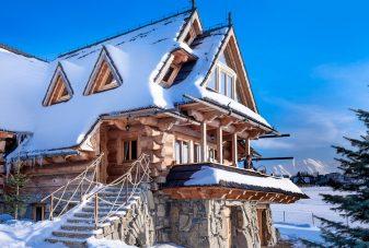 Villa Gorsky Zima_Domki drewniane