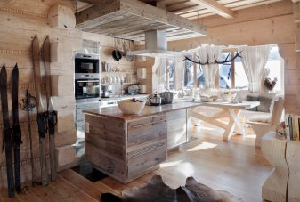 Villa Gorsky Kuchnia_ Domki drewniane