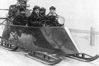 igor sikorsky_snowmobile_second 1914