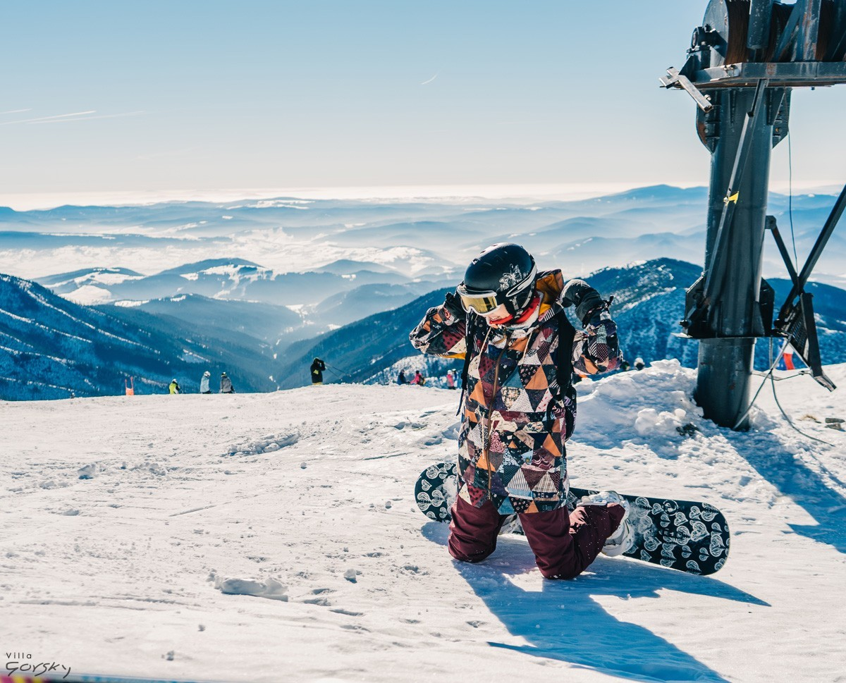 VillaGorsky-snowboard-dzieci