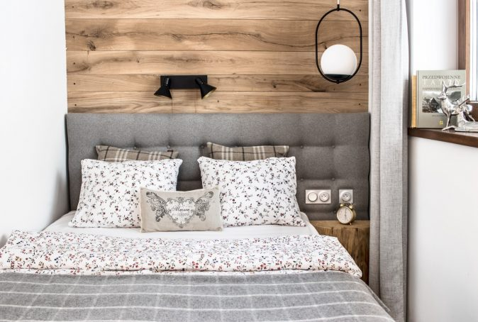 Apartament-Zakopane- sypialnia